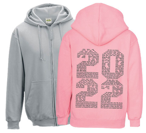 School Leavers Zip Hoodies